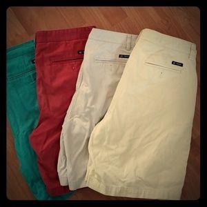 Chaps shorts bundle (3 size 33, 1 size 34)